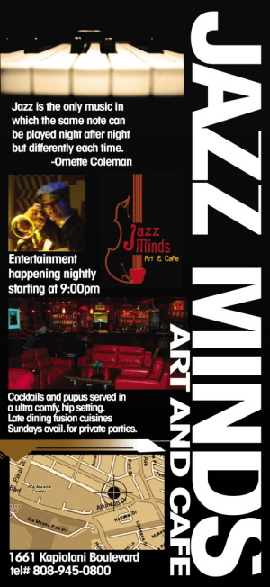 Jazz Minds ~ Latest Jazz News, Honolulu Entertainment
